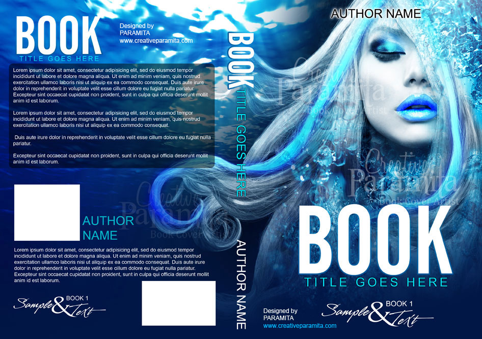 Fantasy Book Cover Typography : Fantasy book cover design by designer creative paramita
