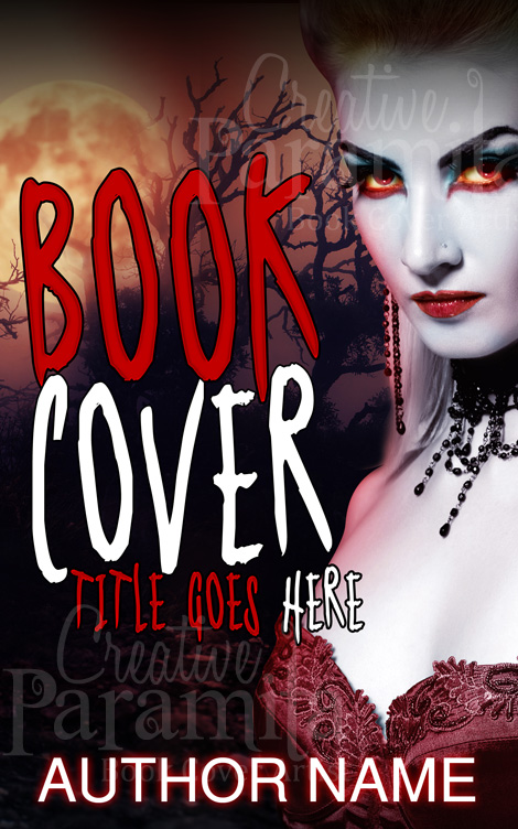 Vampire Book Cover Art : Vampire killer premade book cover