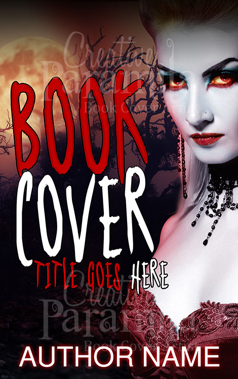 Vampire Book Cover Art ~ Vampire killer premade book cover