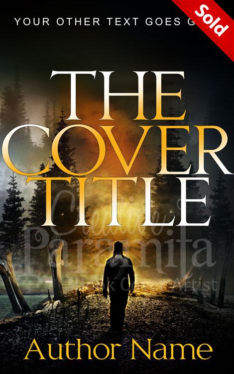 Fantasy Adventure Book Cover : Premade book cover for contemporary thriller adventure