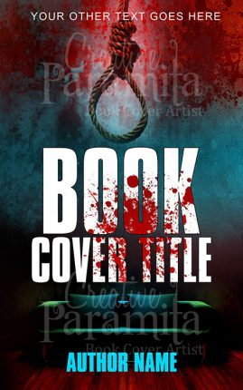 horror thriller book cover