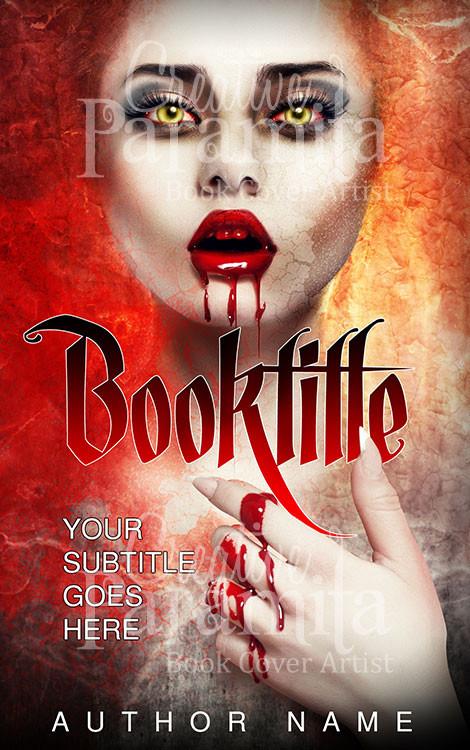 Book Cover Design Vampire : The kiss of vampire premade book cover