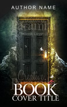 fantasy door book cover