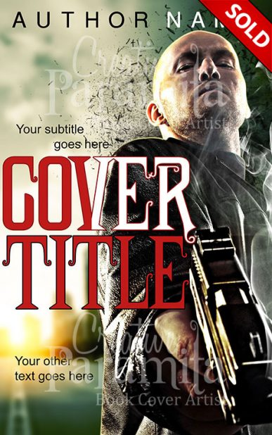 action crime book cover