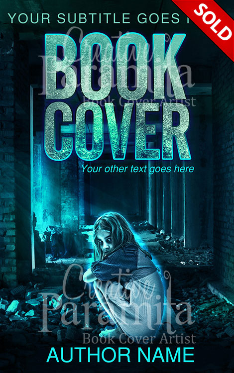creepy book cover