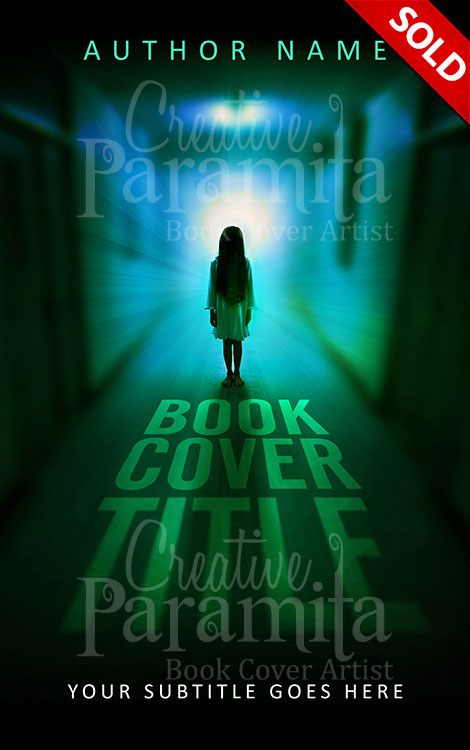 Book Cover Design Horror : The hallway premade book cover
