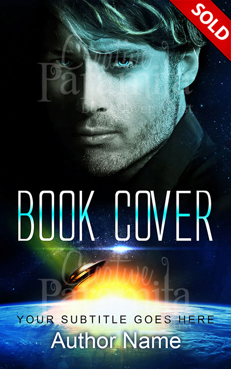 sci fi action book cover