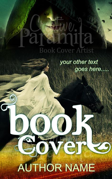 Fantasy Adventure Book Cover : Rider premade book cover