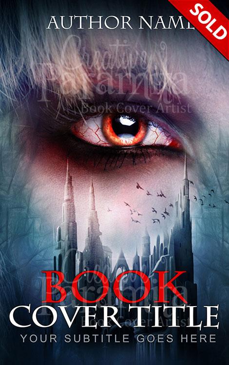 horror pre designed book cover