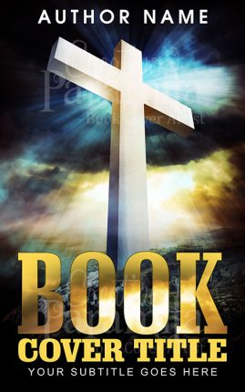 christanity premade book cover