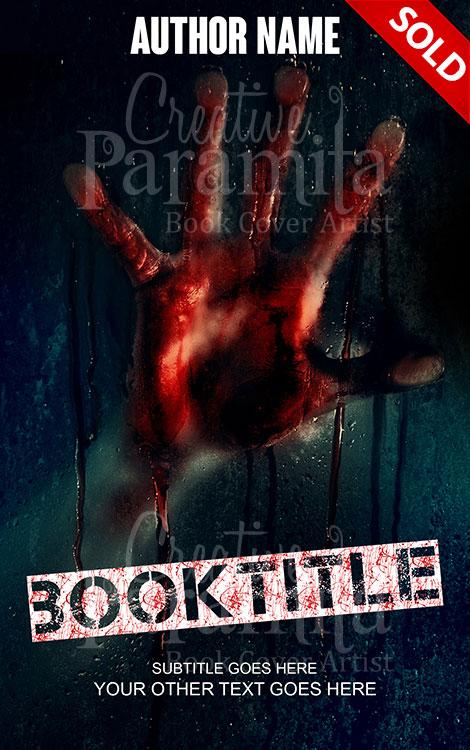 horror book design