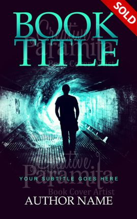 Mstrery premade book cover
