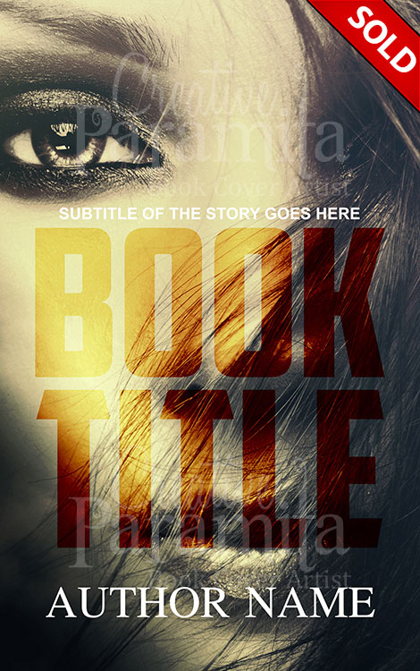 thriller premade cover