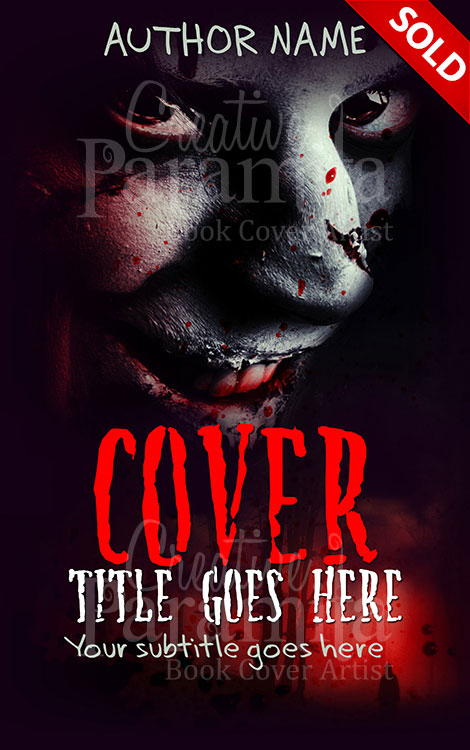 horror book cover