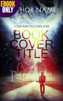 alien book cover design