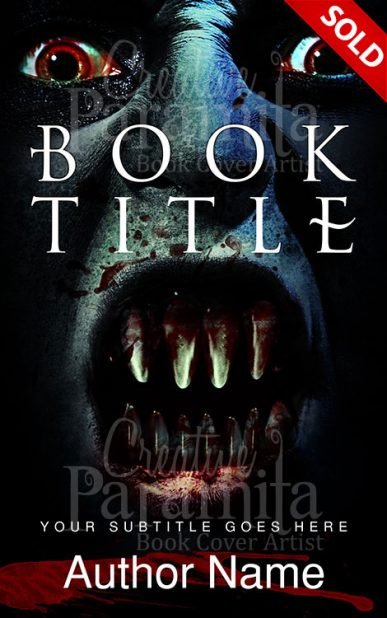 scary book cover