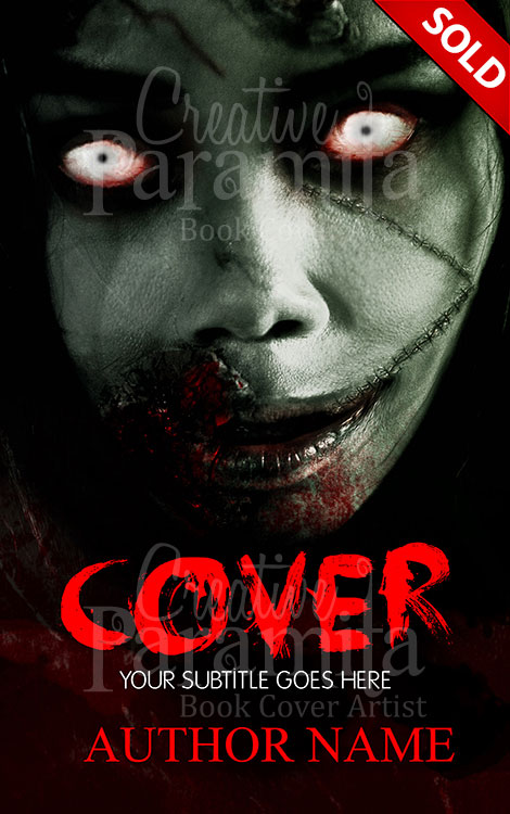 Book Cover With Pictures : Zombie girlfriend premade book cover