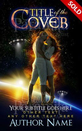 sci fi romance book cover