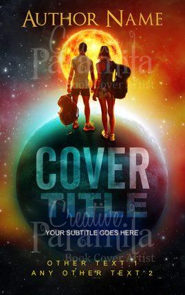sci fi adventure book cover