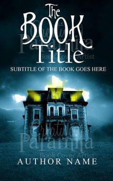 ghost book cover design