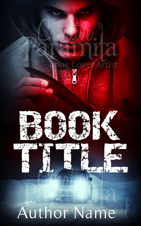 thriller book cover