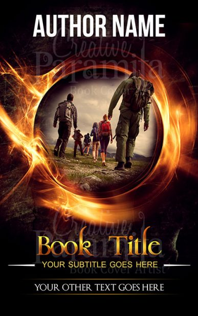 adventure premade book cover