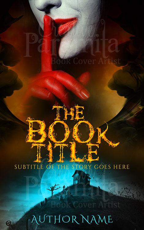 horror thriller book covers