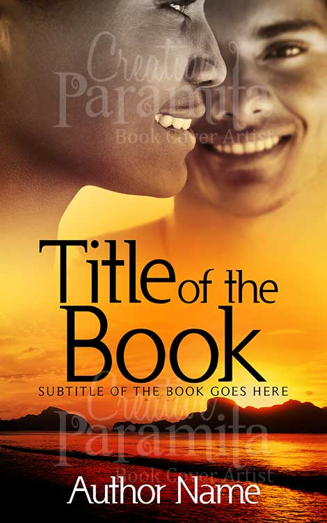 healing premade book cover