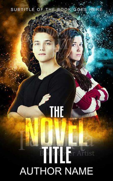 teen sci fi book cover