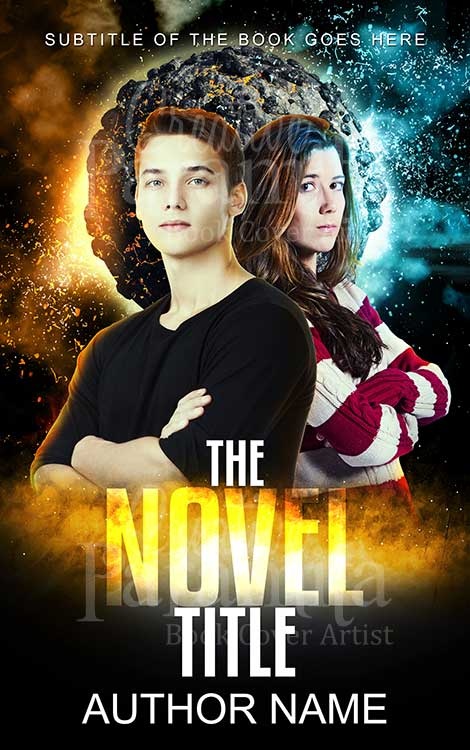 teen sci fi book cover