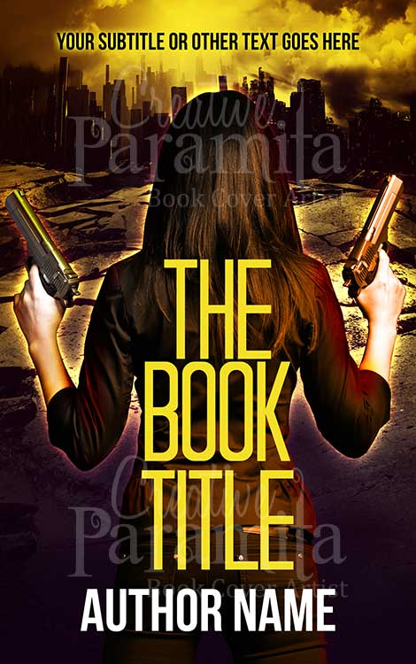 action premade cover