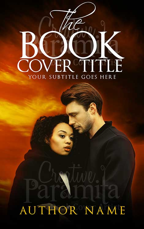 simple romance book cover