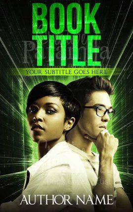 sci fi thriller ebook cover