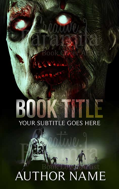 Zombie Hunter Premade book cover