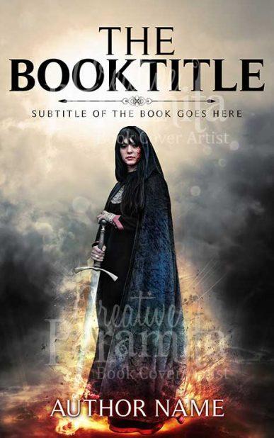 action fantasy ebook cover