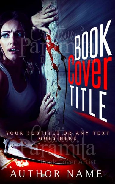 pre designed thriller book cover