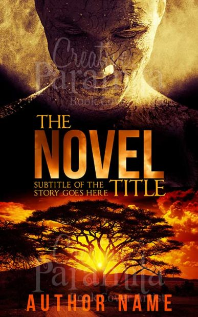 fiction premade book cover