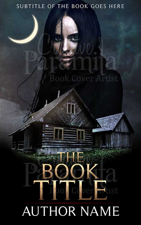 Book Cover Design Horror ~ Enchantress premade book cover