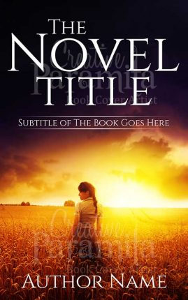 Drama premade book cover