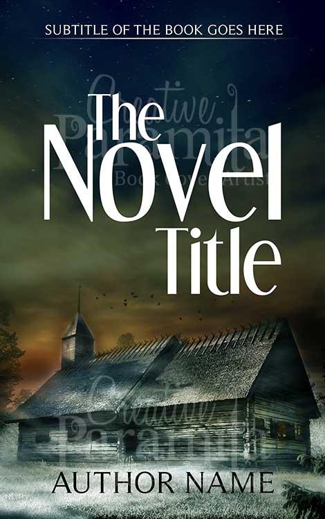 fiction ebook cover design
