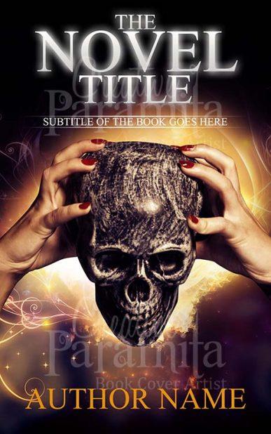 horror pre designed cover