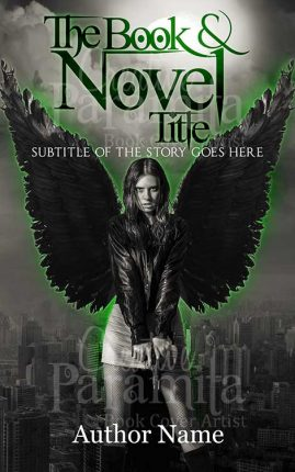 girl with wing premade cover