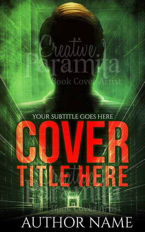 sci fi thriller book cover