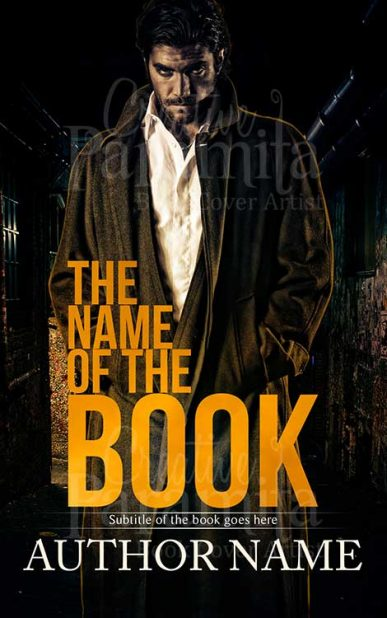 crime thriller ebook cover