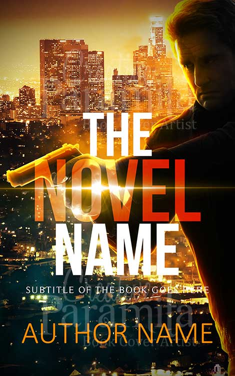 Action thriller ebook cover