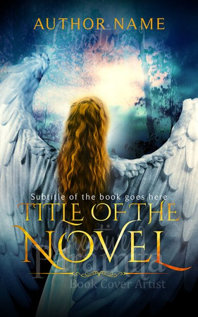 angel ebook cover design
