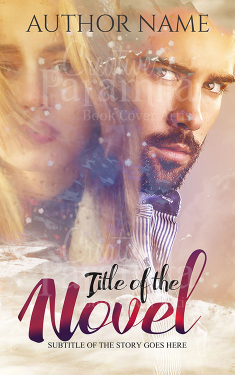 three little words premade book cover
