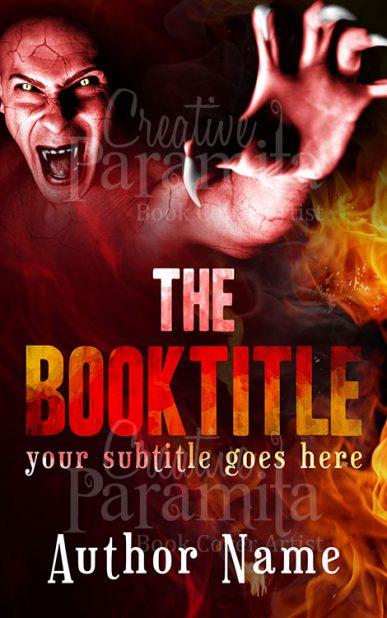 devil premade book cover