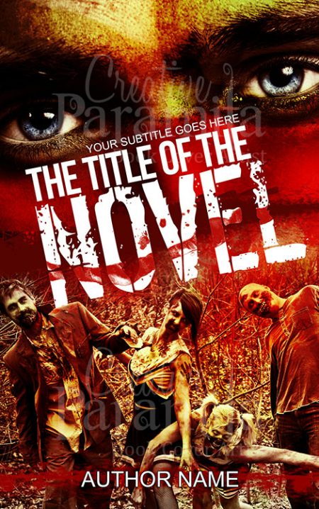 Zombie thriller book cover