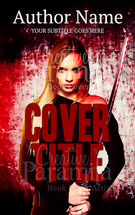 crime thriller ebook cover